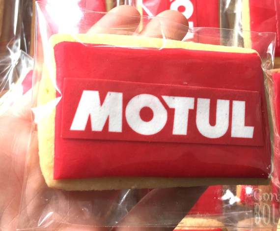 Galletas corporativas Motul