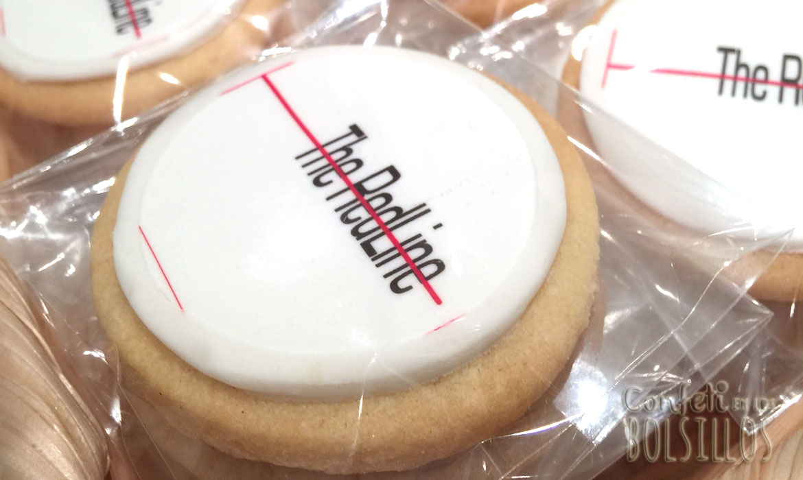 Galletas corporativas The RedLine