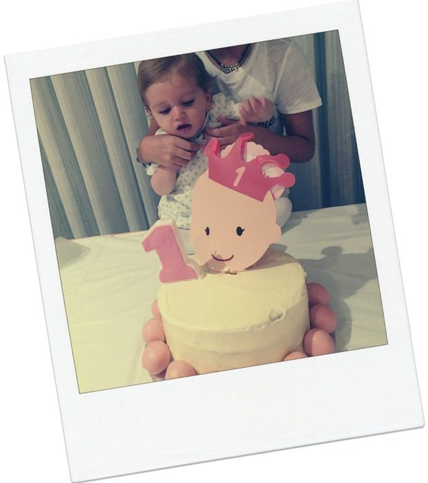 Tarta princesa 1 year