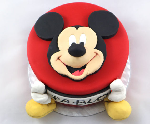 Tarta 2D Mickey Mouse