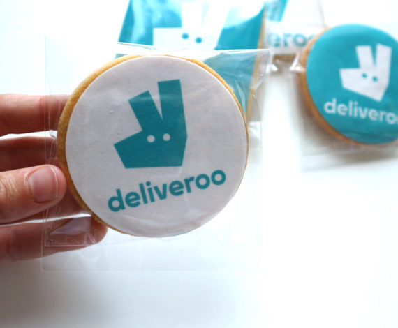 Galletas corporativas para Deliveroo