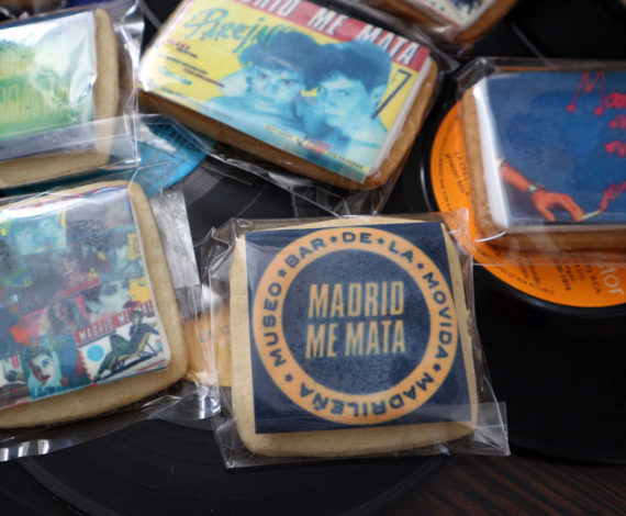 "Galletas corporativas del bar ""Madrid, me mata"""