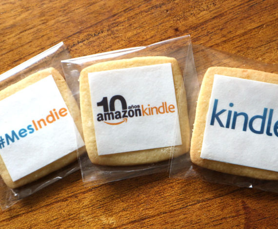 Galletas Mes indie para el 10º Amazon Kindle