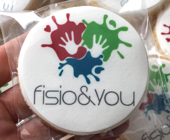 Galletas corporativas Fisio & You