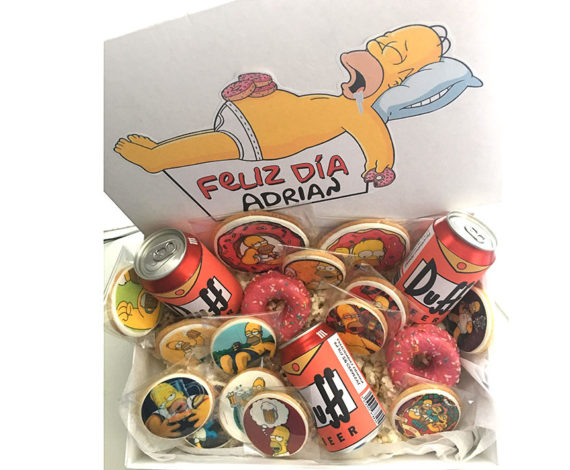 Cesta para fan de Homer Simpson
