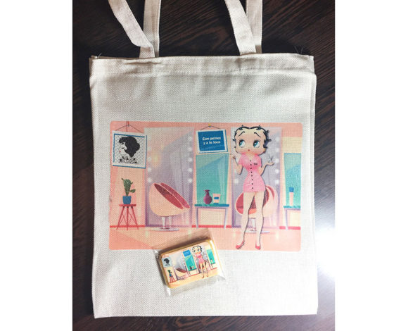 Tote bag y galletas Betty Boop