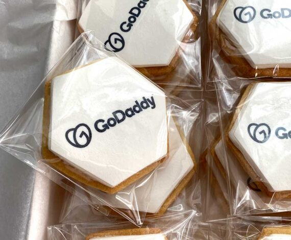 Galletas empresa GoDaddy